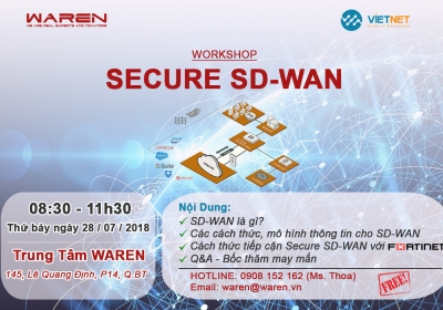 WORKSHOP: SECURE SD-WAN